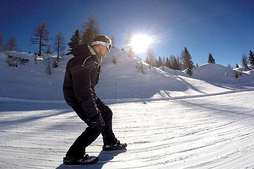 新感覚スポーツ スキーとスケートのハイブリッド ミニスキー スケート ショートスキー スノーブレード