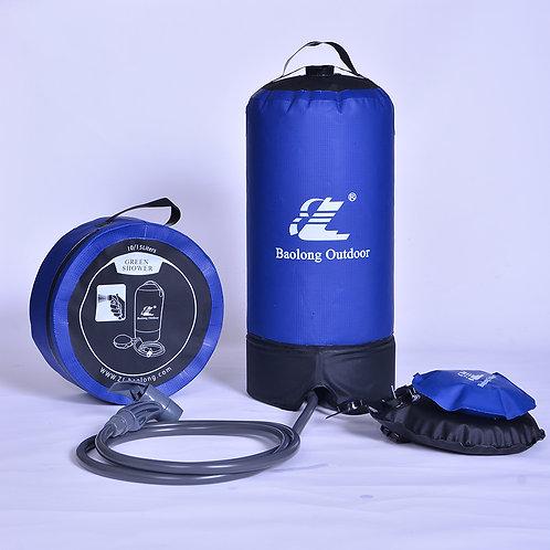 サボテンライフ どこでも使える ポータブル シャワーバッグ 11L 大容量 シャワー 海水浴 サーフィン 潮干狩り
