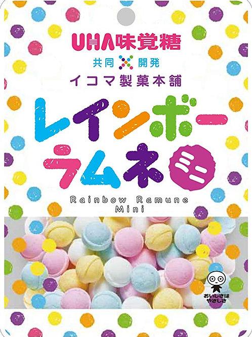 関西限定 味覚糖 レインボーラムネ 6Pセット