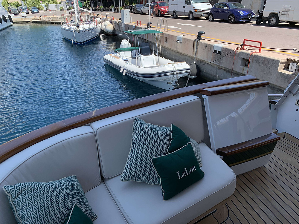 MAR.CO TWENTYTHREE luxury tender lelou yacht