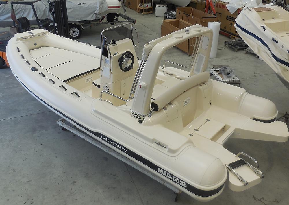 MAR.CO EIGHTEEN | 5.80 meters rigid hull inflatable boat