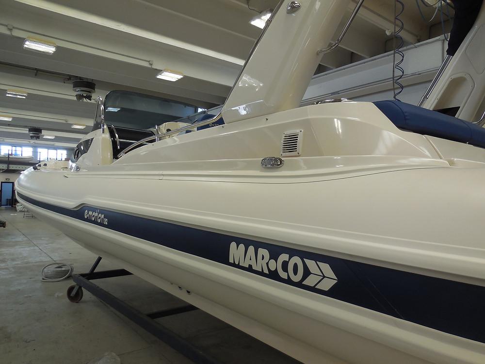 MAR.CO e-motion 32 cabin rib 9 98 meters