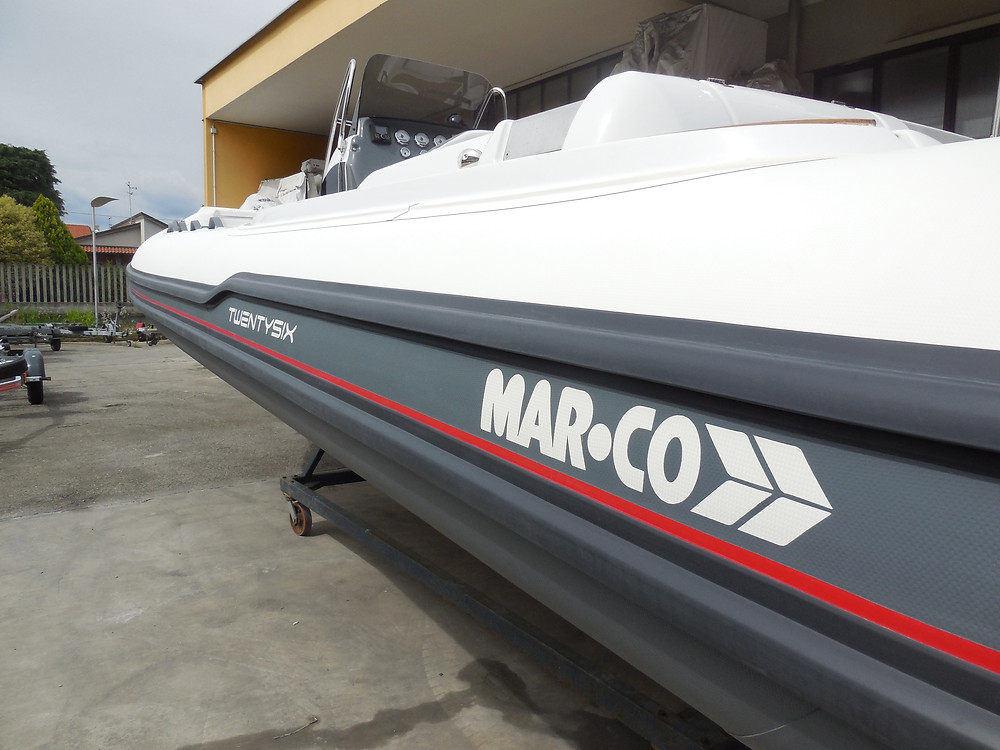 Rigid inflatable boat MAR.CO 8 meters tubes