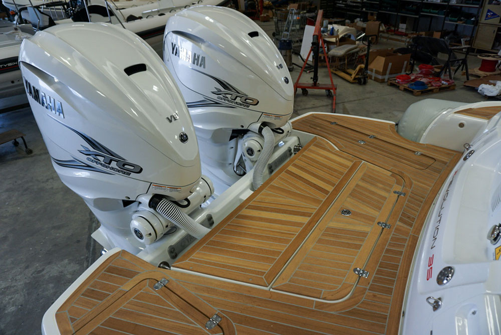 Gommone mar.co r-evolution 35 con 2 motori yamaha 425 xto