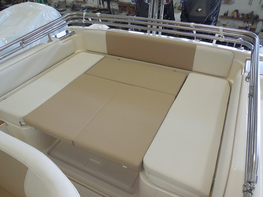 MAR.CO twentysix 8.43 meters rigid inflatable boat stern sundeck