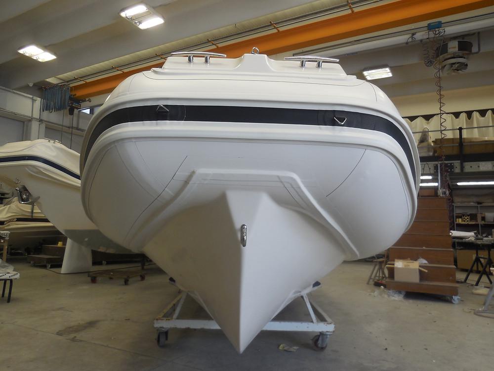 MAR.CO EIGHTEEN | 5.80 meters rigid hull inflatable boat fiberglass deep V