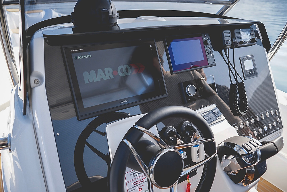 GPS Garmin gommone