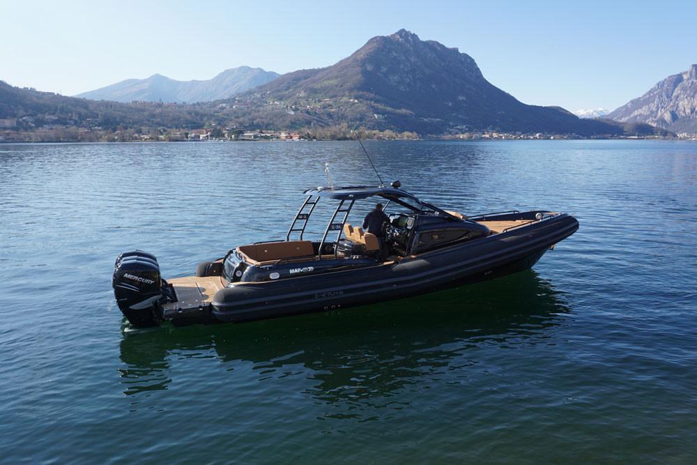 mar.co e-motion 36 black swan edition tube pennel & flipo black matt