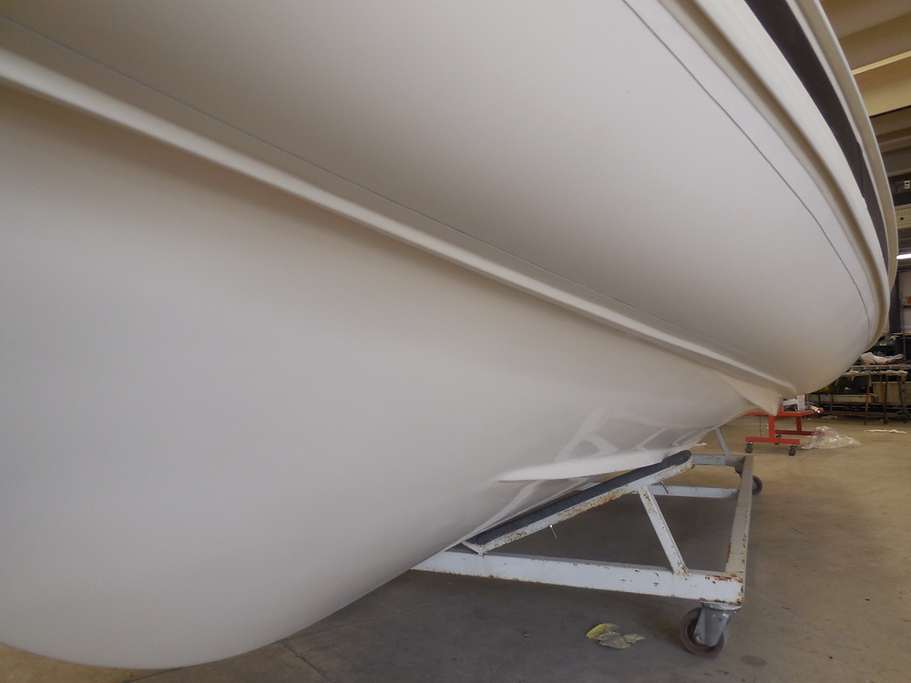 MAR.CO EIGHTEEN | 5.80 meters rigid hull inflatable boat fiberglass gelcoat