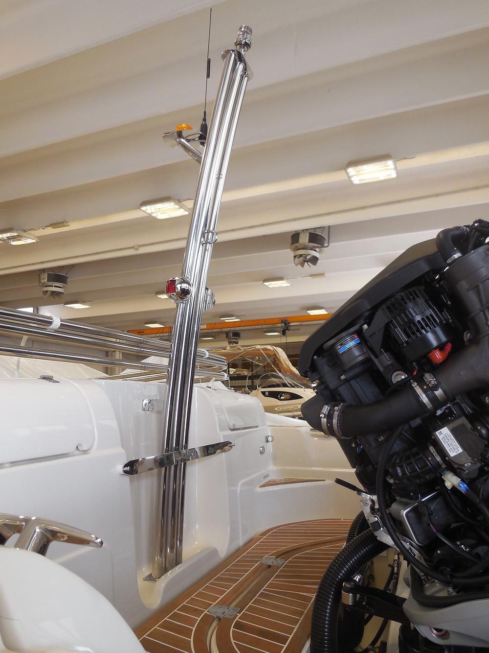 MAR.CO twentysix 8.43 meters rigid inflatable boat mat de ski
