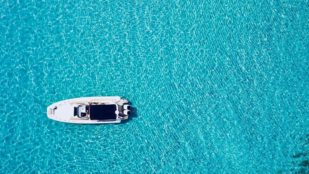 RIB boat drone