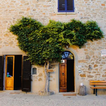 Chianti, Agroturismo en Italia