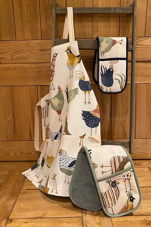 Funky Chicken Childs Apron T004