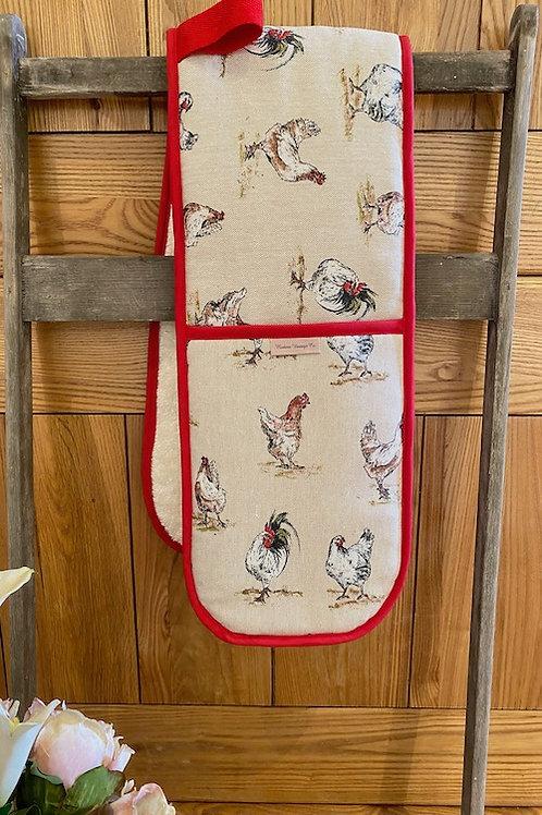 Chicken Childs Oven Gloves V006