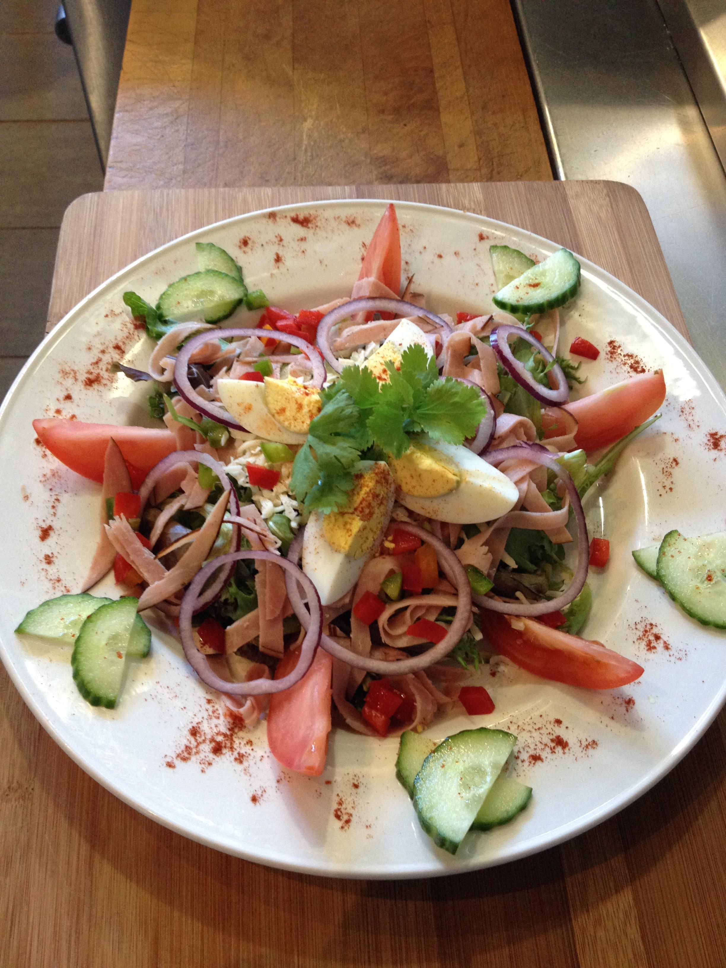 Salade repas le midi