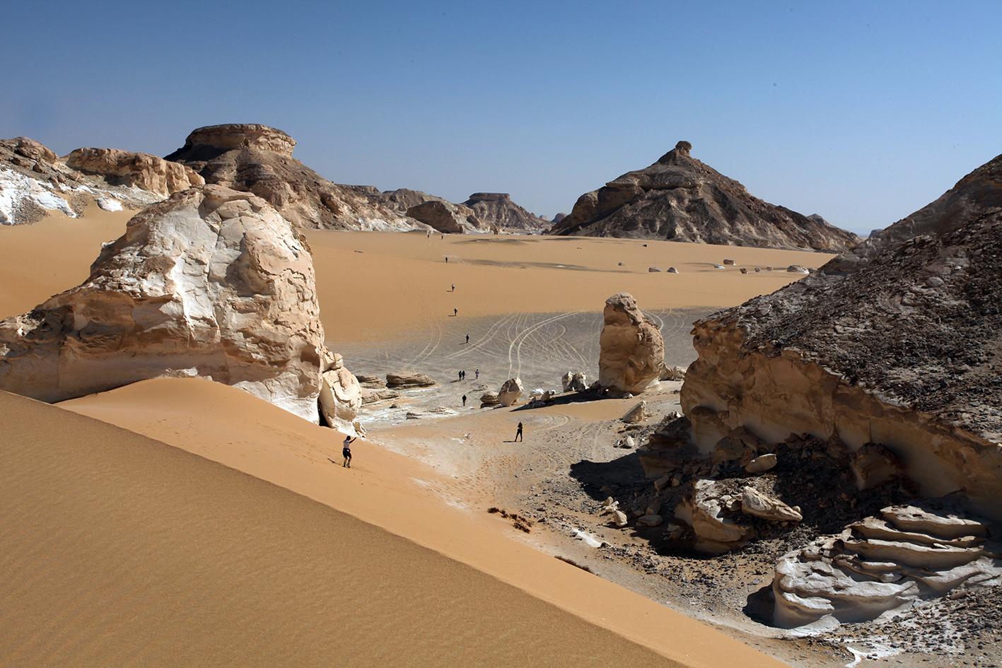 Désert blanc Egypte LPO