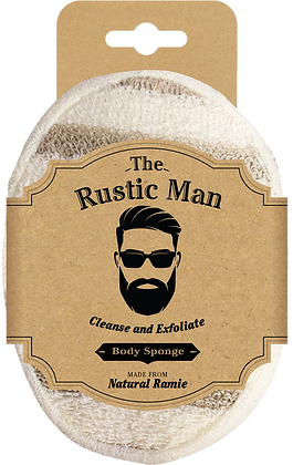 The Rustic Man Body Sponge