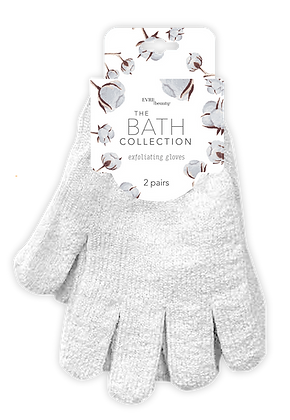The Bath Collection Exfoliating Gloves 2 pr