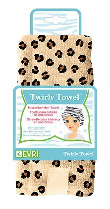 Microfiber Hair Towel Animal Print