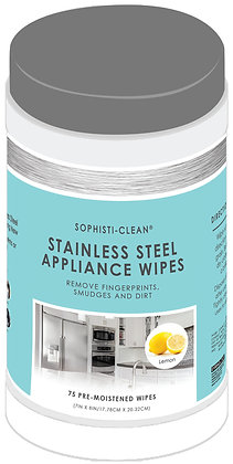 Sophisti-Clean Stainless Steel Appliance Wipes
