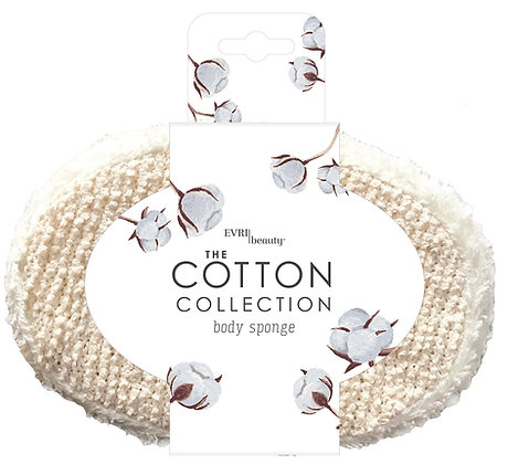 The Cotton Collection Body Sponge
