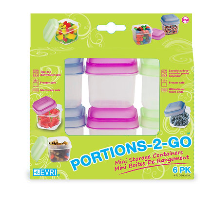 Portion Packers 6 PK