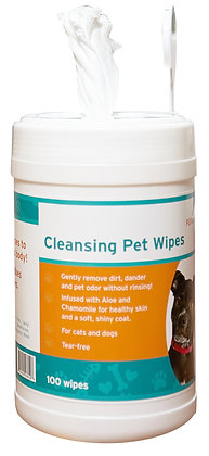 FURemover Cleansing Pet Wipes