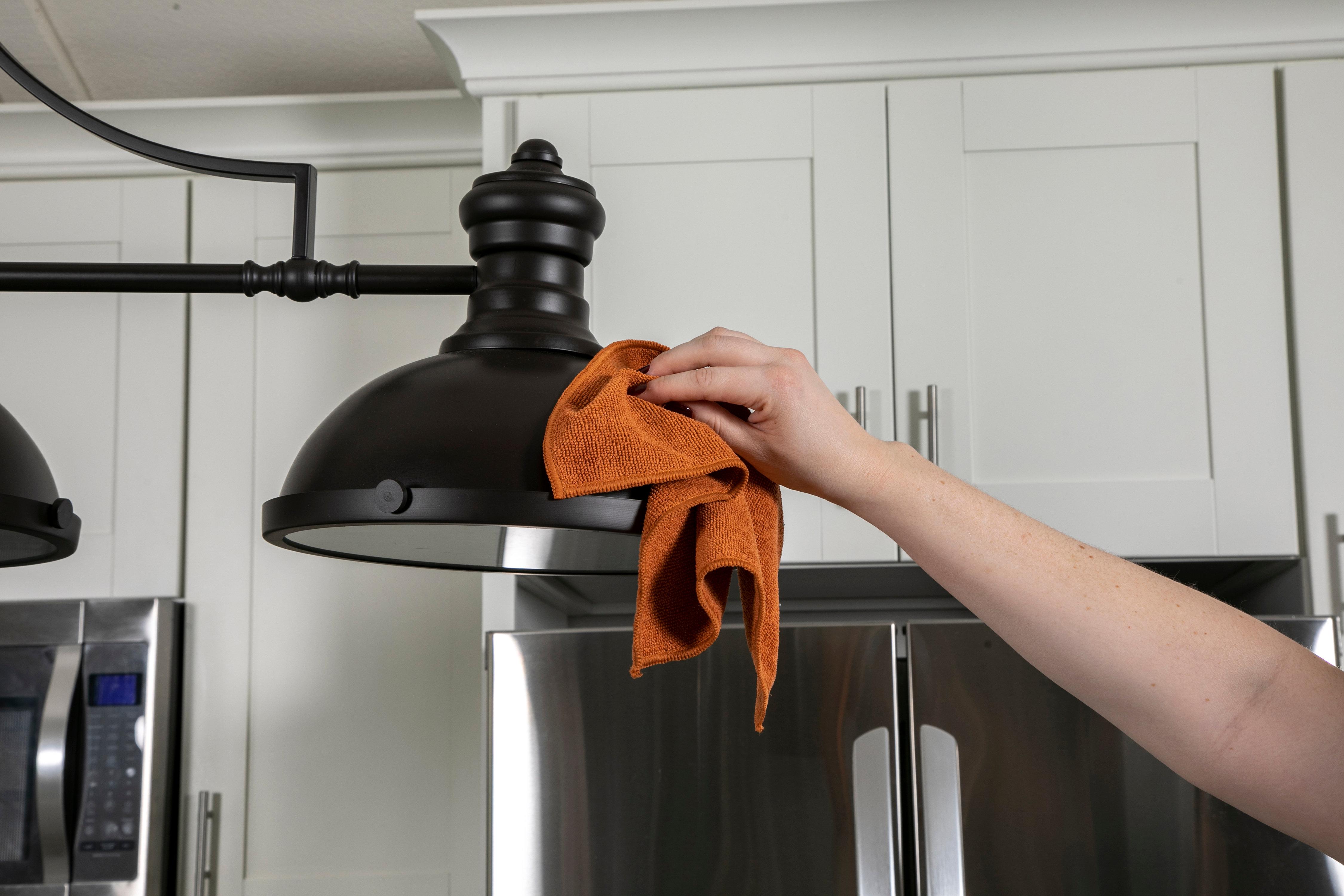 Copper Lane™ Microfiber Cleaning Cloths 10pk | evriholder