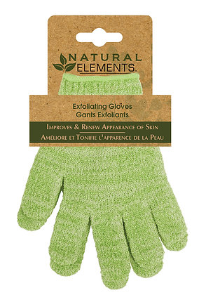 Natural Elements Exfoliating Gloves