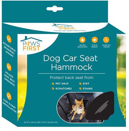 Paws First Dog Car Seat Hammock