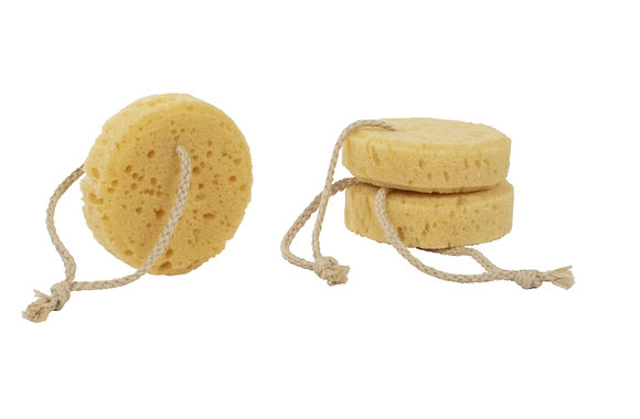 Natural Elements Facial Sponges 3pk