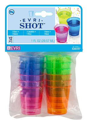 Evri-Shot Shot Glasses 1oz