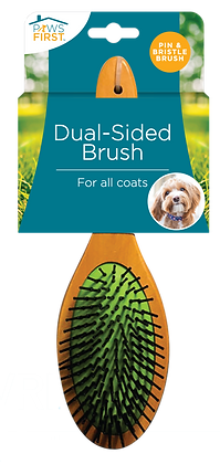 Paws First Dual-Sided Brush
