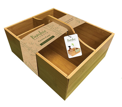 Bamboo Naturals Cleaning Caddy