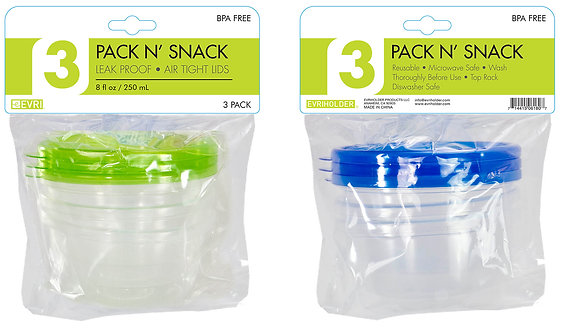 Pack N' Snack 3 Pack