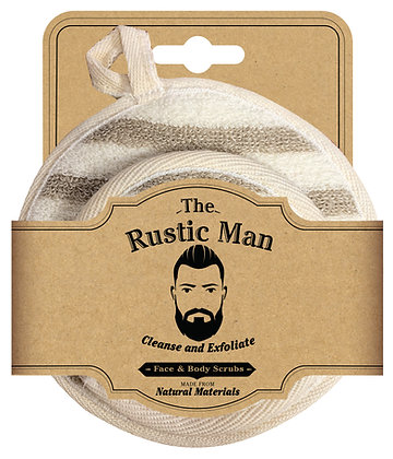 The Rustic Man Face & Body Scrubs