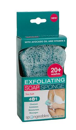 Sea Salt Exfoliating Soap Sponge