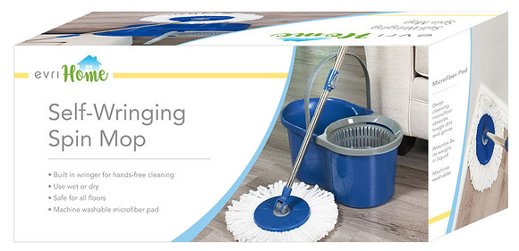 EvriHome Spin Mop With Bucket