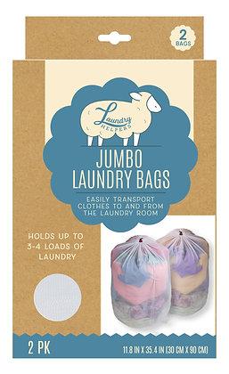 Jumbo Laundry Bags 2 PK