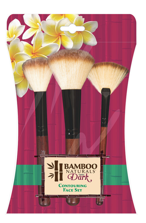 366cdb2a6e3d Bamboo Naturals® Dark Contour Makeup Brushes 3 pc