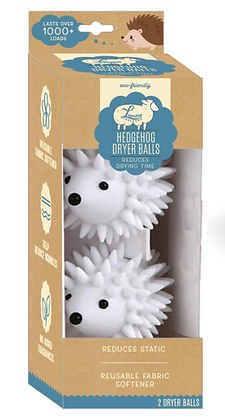 Hedgehog Dryer Balls 2 PK