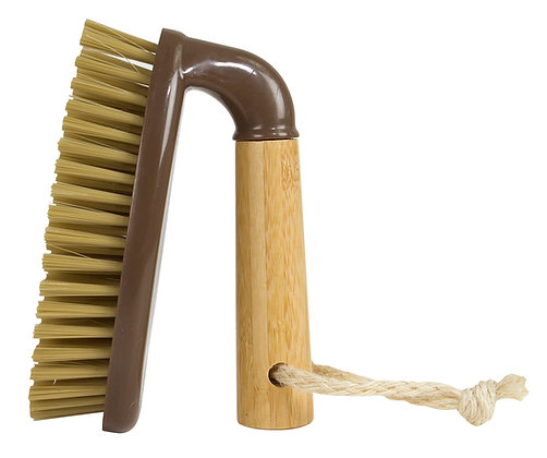 Bamboo Naturals Heavy Duty Scrub Brush