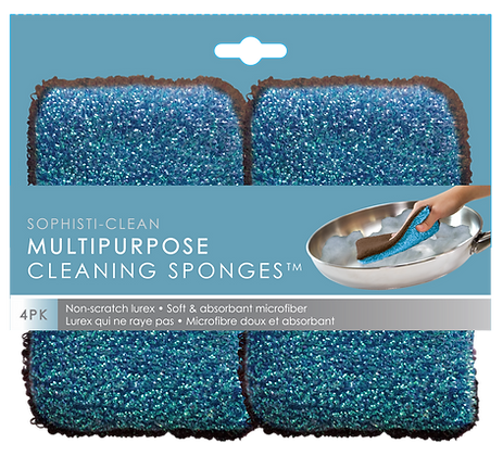 Sophisti-Clean Cleaning Sponges 4 pk