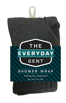 The Everyday Gent Shower Wrap
