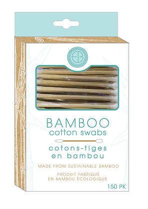 EVRI/beauty Bamboo Cotton Swabs 150 pk