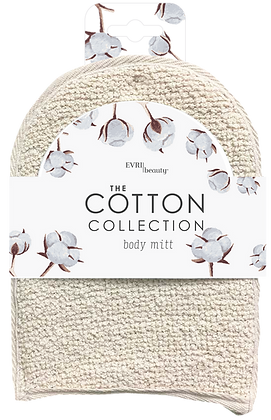 The Cotton Collection Body Mitt