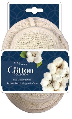 Cotton Collection Face and Body Scrub Set
