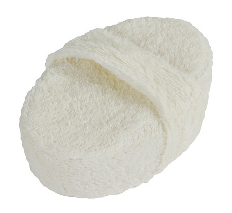 The Cotton Collection Exfoliating Body Sponge