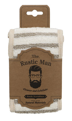 The Rustic Man Back Scrubber