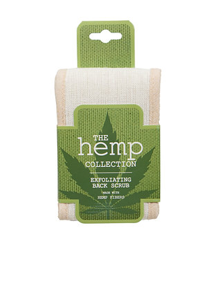 The Hemp Collection Exfoliating Back Scrub